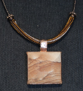 Utah Gemstone Jewelers - Sandstone Pendants