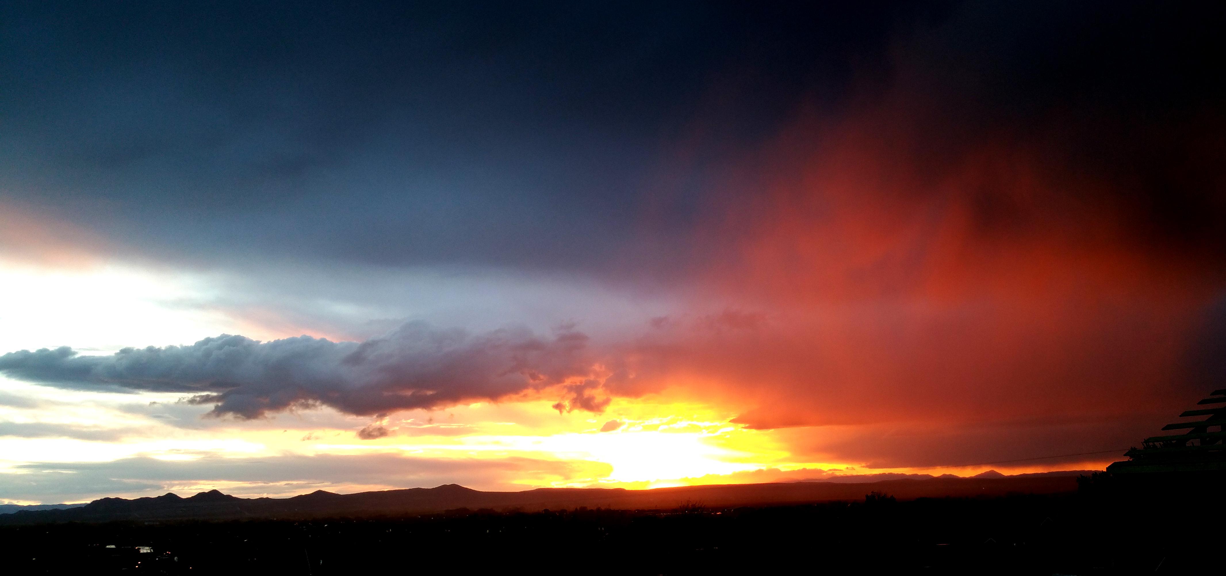 Enoch, Utah Sunset