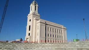 Cedar City, Utah Temple under Construction