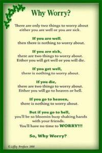 worry stone saying