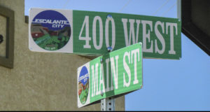 Main St Sign