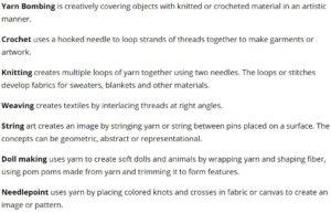 Yarn Day 02