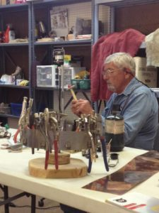 Utah Gemstone Artist Tracy Hassett in Classes